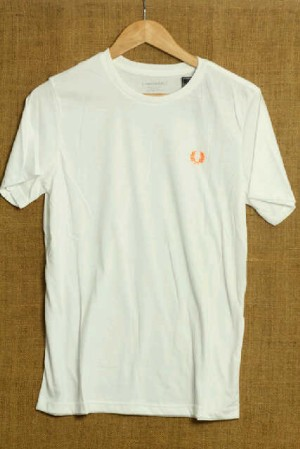 KAOS FREDPERRY TIMBUL ORANGE