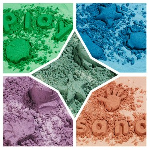 Pasir Warna / Coloured Sand ELC (Paket 5 Warna)