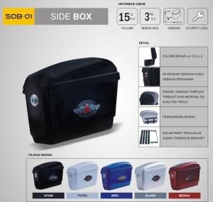 BoxMotor KMI (Samping) Kiri Dan Kanan / Side Box SDB - 01