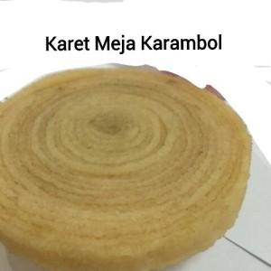 harga Karet mentah meja karambol Tokopedia.com
