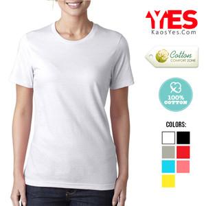 Jual KaosYES Kaos Polos T Shirt O NECK LENGAN PENDEK Putih S Source · Kaos Polos