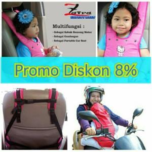 Sabuk Pengaman Mobil Untuk Anak & Sabuk Bonceng Motor