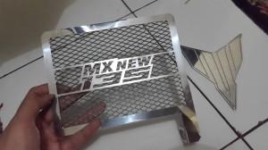 harga Cover Radiator Yamaha New Jupiter MX 135 Stainless Steel Tokopedia.com