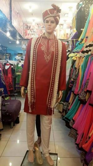 harga Baju Celana Selendang India Kurta Pria Laki dan Topi Turban Tokopedia.com