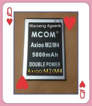 Baterai M-COM Axioo M2/M4 Double Power 5000mAh