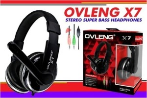 OVLENG X7 Headphone with Mic for PC. Superbass