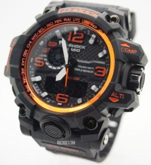 G-Shock GWG-1000 Black List Orange