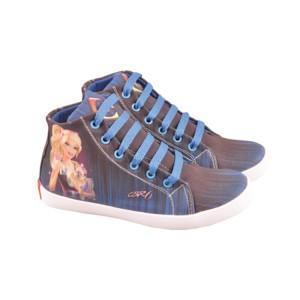 harga sepatu anak perempuan, sepatu sekolah anak cewek, barbie, CNC 392 Tokopedia.com