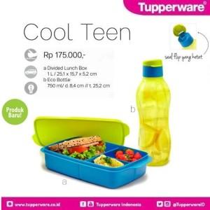 Tupperware Cool Teen Paket Tempat Makan dan Minum