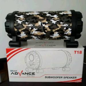 harga Speaker Advance T18 Subwofer + bonus Flasdisk Vandisk 16gb Tokopedia.com