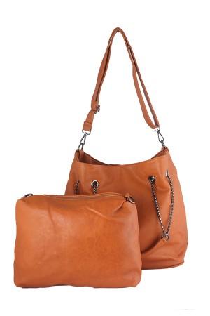 Tas Wanita Tote Bags - Sanne Tote Brown Misyelle