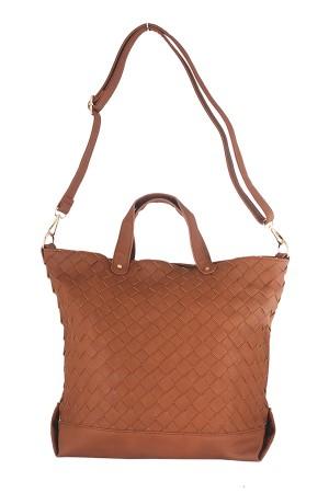 Tas Wanita Tote Bags - Brad Tote Brown Misyelle