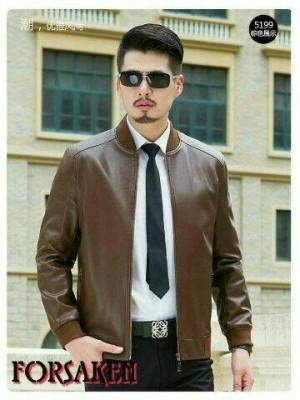 jaket kulit domba elegan