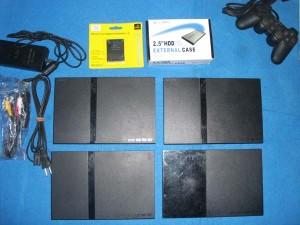 Ps2 Slim Scph70000 + Hardisk 80gb Murah
