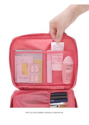 Travel Monopoly Abu Abu. Harga Best Cosmetic Multi Pouch Kosmetik Organizer Multifungsi .