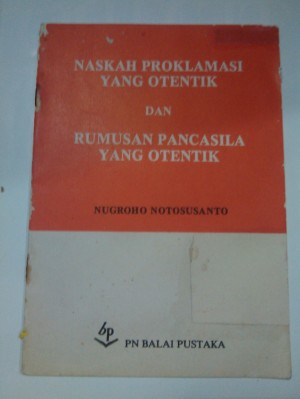 harga buku naskah proklamasi dan rumusan pancasila, klasik jadul lama1983 Tokopedia.com
