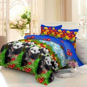 Sprei D'luxe Kintakun ukuran 160 x 200 – Love Panda