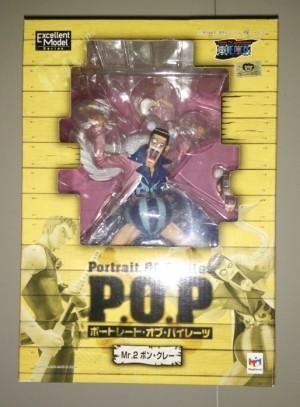 P.O.P Mr. 2 Bon Clay | One Piece | 1/8 | MegaHouse