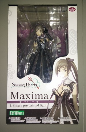 Maxima | Shining Hearts | 1/8 | Kotobukiya