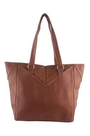 Tas Wanita Tote Bags - Atlanta Tote Tan Misyelle