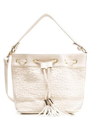 Tas Wanita Drawstring Bags - Cille Draw White Misyelle