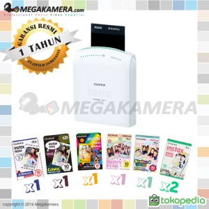 Fujifilm Instax Share SP-1 kamera instant ( polaroid ) + Instax Paper