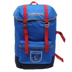 Karrimor Summit 30 Rucksack (70th Anniversary Edition) (Blue-Red)