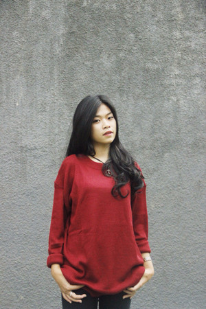 grosir loose sweater