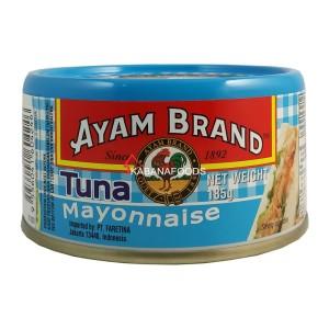 Tuna Mayones Kalengan Ayam Brand Tuna Mayonnaise 185g