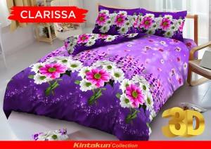 Sprei D'luxe Kintakun ukuran 160 x 200 – Clarissa