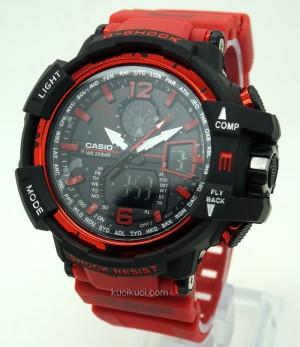 GShock/G-Shock GWA-1100 Red Black