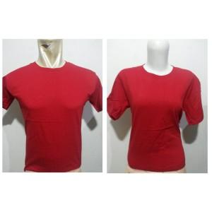 Jual Kaos Polos Warna Merah Javi Store Tokopedia Gambar