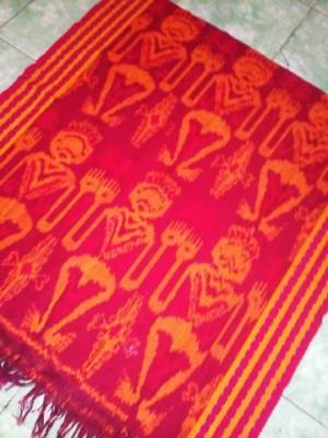 Jual kain batik tenun ikat Jepara motif asmat 120x240 cm  Toko