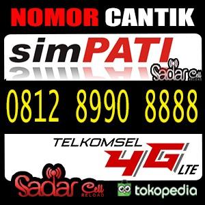 Nomor Cantik Simpati Kw 8888 4G LTE hoki ( 0812 .