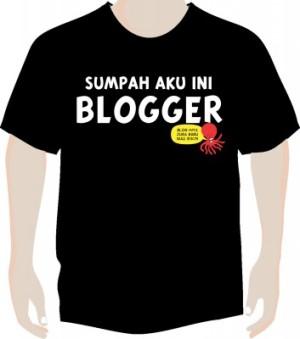 Kaos Blogger Bandung ukuran 3L