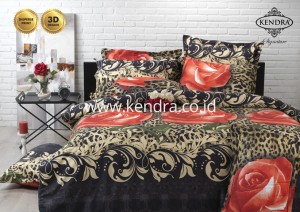 Sprei Kendra Signature 180 Tinggi 30 motif Tiger Rose