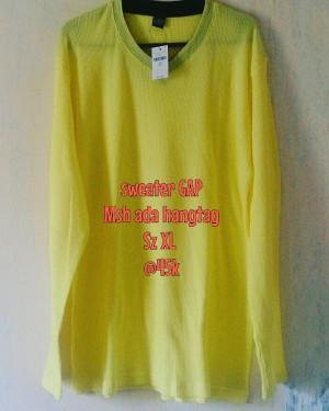 Sweater GAP Yellow