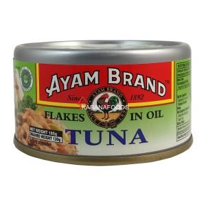 Tuna Minyak Kalengan Ayam Brand Tuna Flakes in Oil 185g