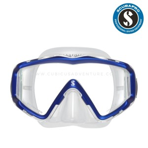 Scubapro CrystalVu Mask (Clear/Blue)