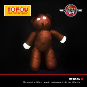 Boneka Bear Mr Bean Medium