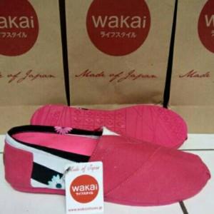 Sepatu Wakai Kombinasi pink