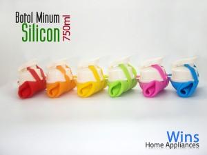 Botol Minum Silicon Lipat 750ml