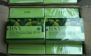 BSY NONI BLACK HAIR MAGIC ORI (3 LOGO)