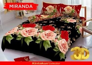 Sprei D'luxe Kintakun ukuran 120 x 200 – Miranda