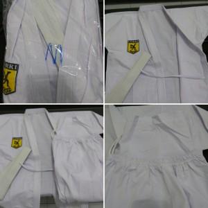 Seragam Karate Baju Pakaian Stelan Karategi Pemula