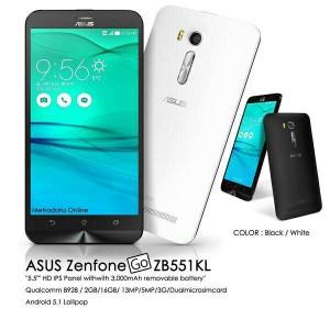 Asus Zenfone GO ZB551KL LTE 4G RESMI 1 thn Hitam .