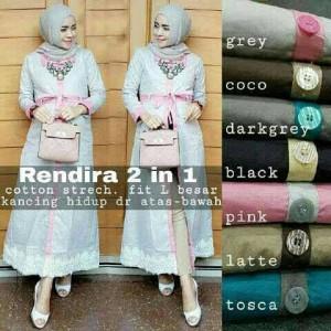 Rendira 2in1 cotton stretch