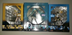 GSC Vocaloid Set Of 3: Hatsune Miku, Rin Kagamine, Len Kagamine