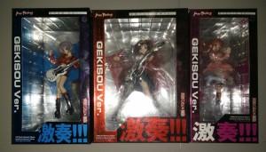 Max Factory Haruhi Series -Gekisou Ver. Set Of 3: Haruhi, Mikuru, Yuki