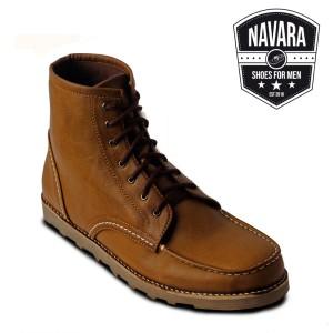 Sepatu Casual Boots OriginalOri Pria Ankle Boot Brown